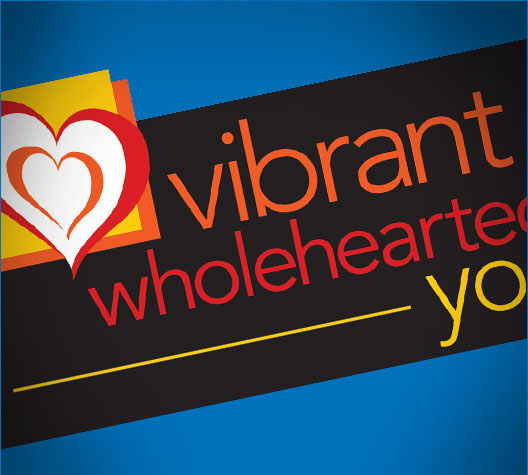 Vibrant Wholehearted You Branding