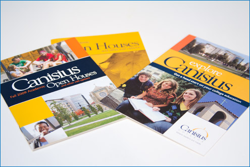 College Admissions Brochure