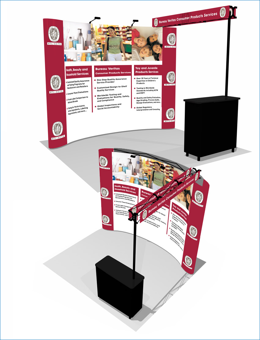Tradeshow Display with Truss